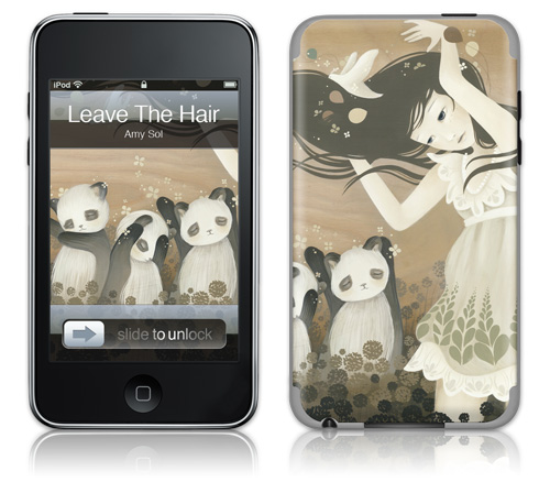 you can find these ipod touch (2g) covers over at gelaskins along with